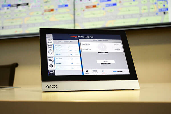 "The AMX 7"" Modero S Series Tabletop Touch Panel"